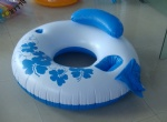 PVC Inflatable Cooler floater with head and can holder