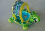 PVC inflatable turtle baby seats