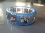 Popeye and Oliver carton design family swimming pools