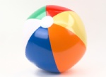 PVC inflatable beach balls for funny