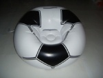 Inflatable football sofa