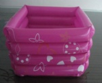 Inflatable Square Pink Foot Pool (Piscina Pedicure)