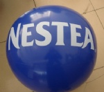 PVC Inflatable NESTEA beach balls for promotional