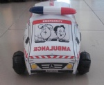 PVC inflatable ambulance/car for advertising