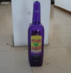 PVC inflatable Pisang Ambon Guarana Lime advertising bottle