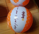 PVC Inflatable KOFOLA beach balls for advertising