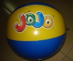 Inflatable JOJO beach balls for promotional