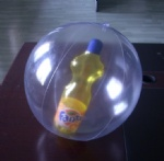 PVC Inflatable 3D FANTA botte in ball for promotional