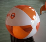 PVC Inflatable OSRAM beach balls for adverstising/promotional